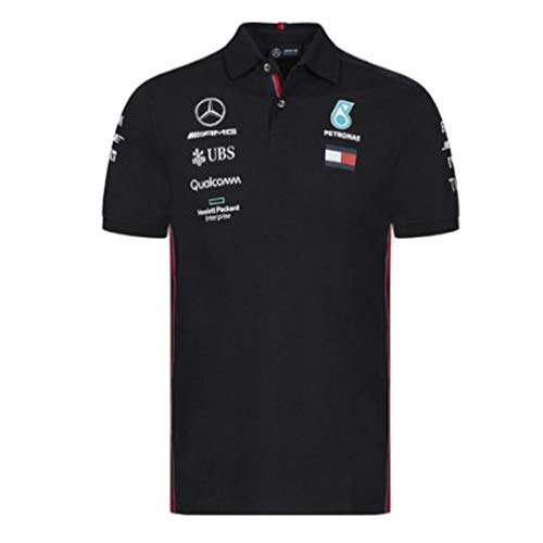 Mercedes-AMG Petronas Motorsport 2019 F1 Team Polo Shirt Black (L)