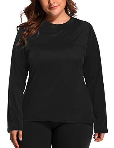 V FOR CITY Womens Plus Size Active Rash Guard Swimwear Workout Top UPF 50+ Rashguard Tee 1X - Womens Stretch Shirt City