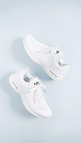 Apl: Athletic Propulsion Labs Dames Techloom Pro Sneakers Wit / Zwart / Gom
