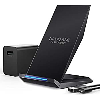 Amazon.com: Fast Wireless Charger, NANAMI Qi Certified ...