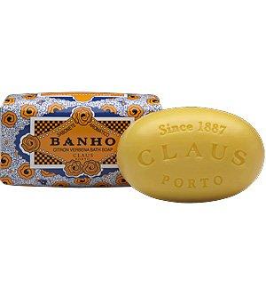 Claus Porto 5.28 oz Bar Soap – Banho (Citron Verbena)