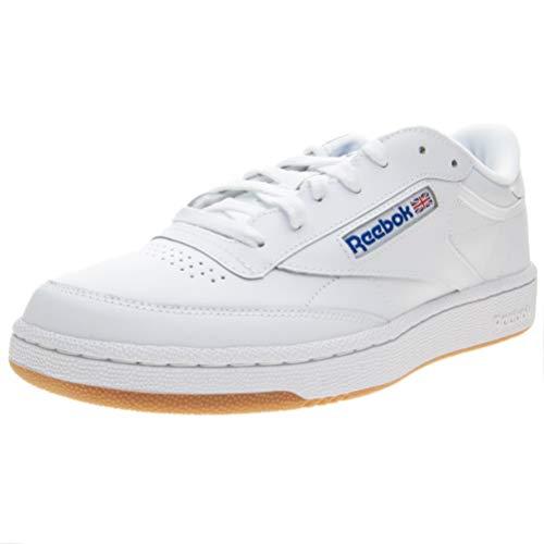 C Club Sneaker Uomo 85 Reebok Blu Bianco qRC5PwTw