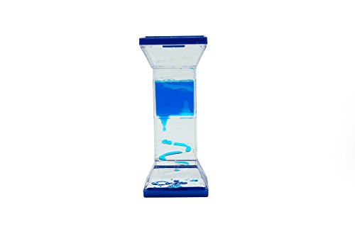 Tytroy 1 PC Blue Zig Zag No Wheel Water Bubbler Water Timer