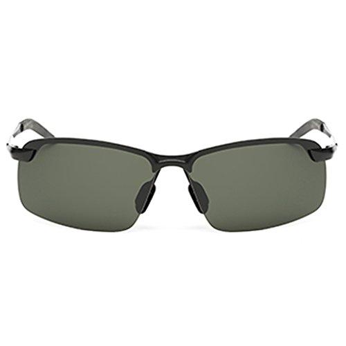 Personalidad de de Sol Black Gafas Hombres de Gafas Green Gafas Gafas YaNanHome de para para polarizadas Hombres Gafas los Hombres Conductores Sol Conducción Color 74Pxfq
