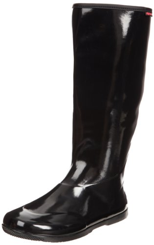 Baffin Rain Boots - Baffin Women's Packables Rain Boot,Black,9 M US