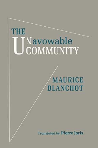 The Unavowable Community