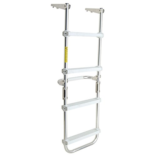 Garelick/Eez-In 12150:01 Folding Pontoon Deck Ladder