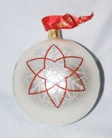 Waterford Starburst Ball Ornament