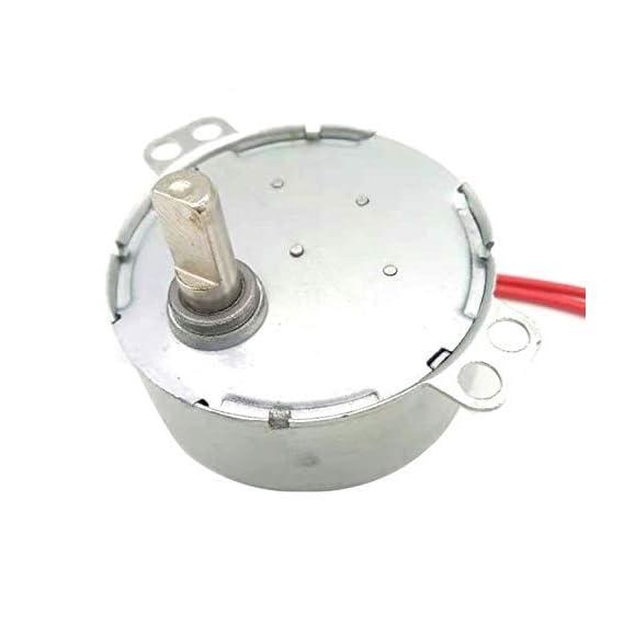 ERH INDIA CW/CCW Auto Swing Metal Motor Synchronous Motor 220V 3-4W CW D Cut Oscillating Motor