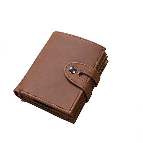 Hattfart Money Clip Wallet Rio - Mens Wallets Slim Blocking Card Holder Minimalist Mini Gift Box]()