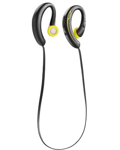 Jabra Sport Plus Wireless Bluetooth Stereo Headphones, Retail Packaging, Black/Yellow