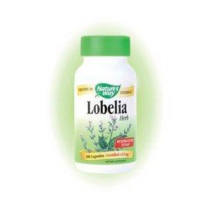 Nature's Way Lobelia Herb, 425 mg, 100 Capsules