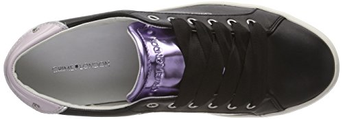 Damen Crimine London 25607ks1 Scarpa Da Tennis Schwarz (schwarz)