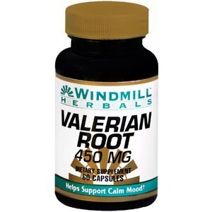 Windmill Valerian Root 450 mg 60 Capsules - 5
