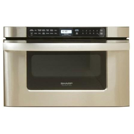 """Sharp KB6524P 24"""" Microwave Drawer Oven with Front-Mounted Touch Controls, Microwave Drawer Oven"""