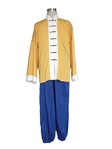Mtxc Men's Dragon Ball Cosplay Costume Master Roshi 1st Size Medium Orange