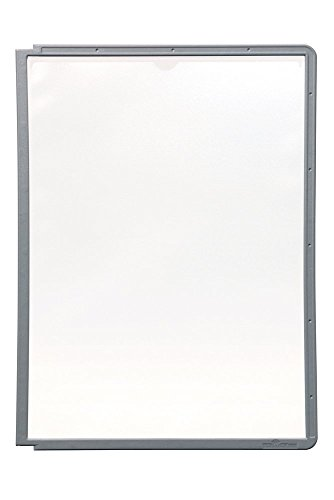 Price comparison product image DURABLE Sherpa Replacement Panels, Graphite, 5-Pack (566637)