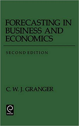 Book Forecasting in Business and Economics (Economic Theory, Econometrics, and Mathematical Economics)