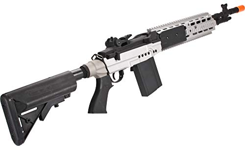 Evike CYMA Full Metal M14 EBR Designated Marksman Rifle Airsoft AEG - Multiple Options Available