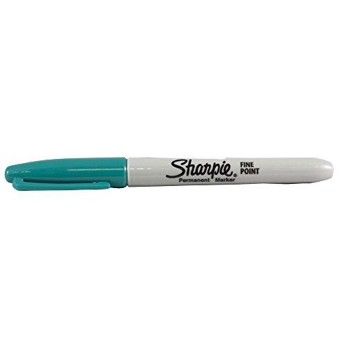 JAM Paper Sharpie Fine Point Marker - Aqua - Sold - Sharpies Individual