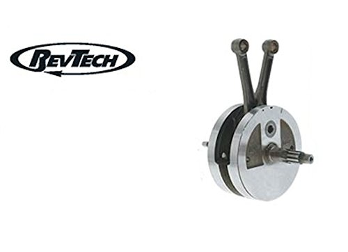 """RevTech 4 3/8"""" Stroke Forged Complete Flywheel Assembly Harley & Custom"""