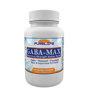 Gabamax 'Gabatrol Powder' 120 Grams Combo with ZHL Multi-Use Measuring Spoon by purelife