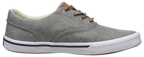 Sperry Men's Striper II Cvo Sneaker, Grey, 8