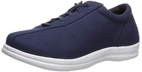 (Apex Women's Ellen Canvas Sneaker, Navy, 10 W US)