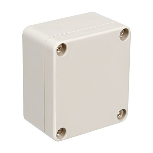 uxcell 65x58x35mm/2.56x2.28x1.38inch Wateproof Electronic ABS Plastic DIY Junction Project Box Enclosure Case Outdoor/Indoor