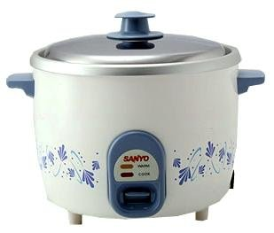 amazon com sanyo 5 cup rice cooker vegetable steamer for 220 volt rh amazon com Oster Rice Cooker Instruction Manual Panasonic Rice Cooker Manual