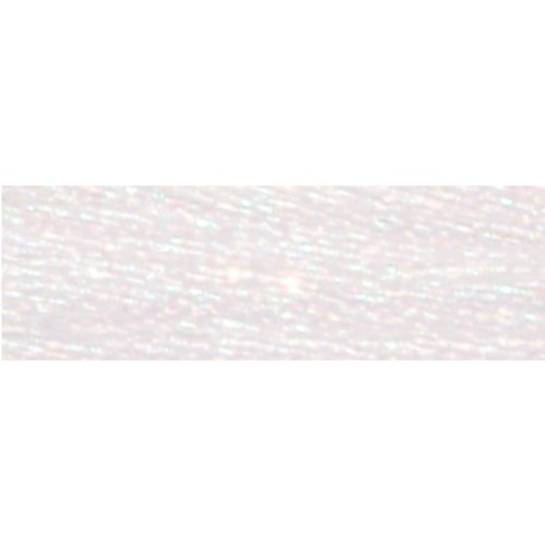 DMC 317W-E5200 Light Effects Polyster Embroidery Floss, 8.7-Yard, White Dmc Light Effects