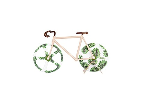 Doiy DYFIXIESD- Fixie pizza Stardust, pizza cutter (Tropical Vintage) (Fixie Rollers)