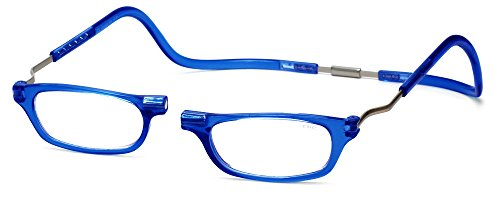 Clic XXL Magnetic Front connection Reading Glasses in Blue ()