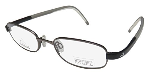 Eyeglasses Adidas Lite Fit Full Rim Performance Steel kids A 999 6056 silver mat