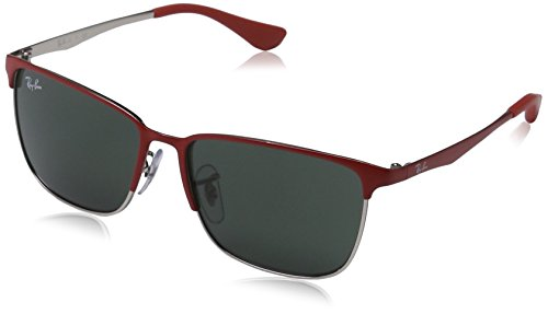 RAY BAN Sunglasses R J9535S 245/71 Top Matte Red On Silver - R Ray Ban