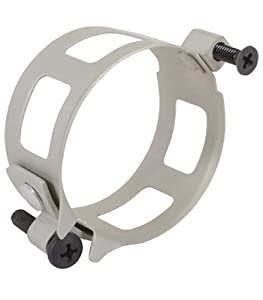 1 Pc, Clamp/Round, Size: 1.968 Depth: 1, Aluminum, Anodized Finish To Make Retrofits Simpler And Faster