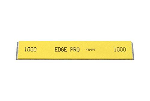 yellow stone knife sharpening - 9
