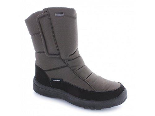 Impermeabili Velcro Marrone Stivali Allineati Signore Marrone Blizzard Caldi Padders wBIPq6X