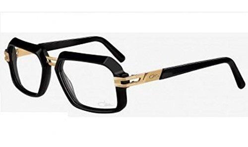 Cazal 6004 Eyeglasses 001 Black-Gold Clear Lens 56 - Cazal Clear