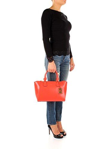 Ralph stefanie Orange Lauren Sacs à II Femme Cuir main N91XZAF9XYAF9 qwBUExZBR7