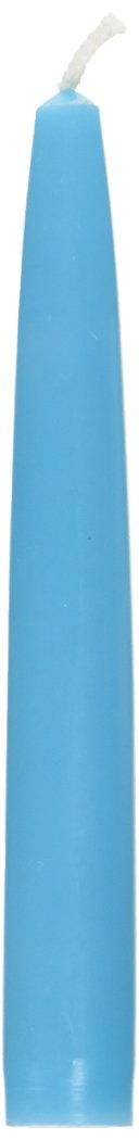 Zest Candle 12-Piece Taper Candles, 6-Inch, Turquoise by Zest Candle