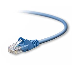 Belkin Cat-5e Patch Cable (Blue, 2 Feet) from Belkin Components