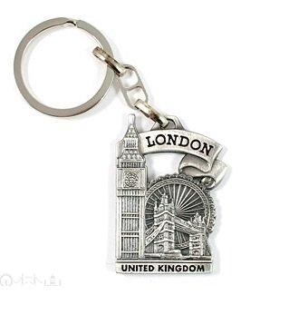 Amazon.com: Metal Llavero con Big Ben, Tower Bridge & ...