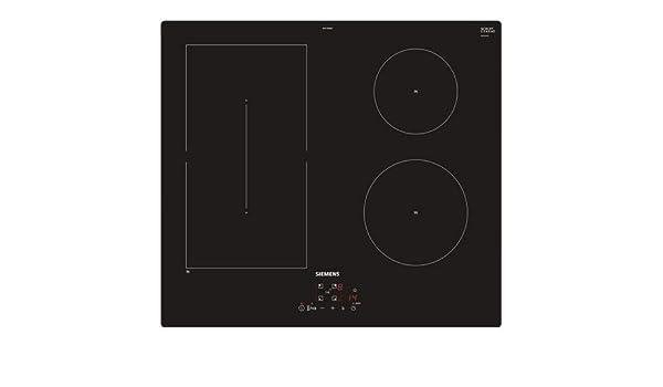 Siemens - Placa de cocción ED611BSB5E de inducción, 3 zonas ...