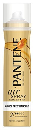 Free Hair Alcohol Spray - Pantene Pro-V Style Series Air Spray Alcohol Free Hair Spray 7 oz (Pack of 3)