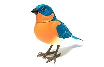 RCTecnic - Robotics Pájaro Azul Cantarín ¡Se activa por movimiento!