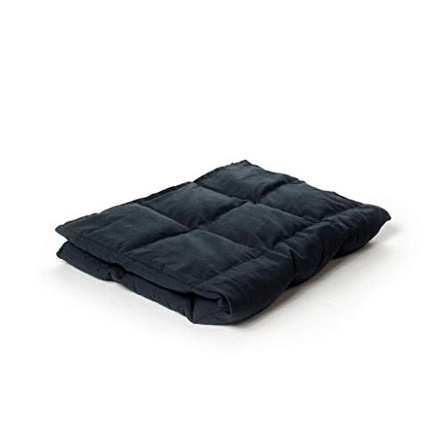 Cheap Weighting Comforts Weighted Travel Blanket and Lap Pad - Helps Soothe and Promotes Better Rest - 21 x 26 (5 pounds Dark Grey) Black Friday & Cyber Monday 2019