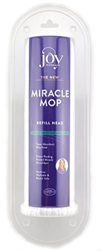 Joy Mangano The New Miracle Mop Refill Head 443-213 - New Mop