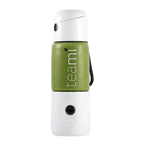 Check Out This Teami MIXit Portable Blender 2.0 - USB Rechargeable, 18.6oz, GLASS - Use at the Offic...