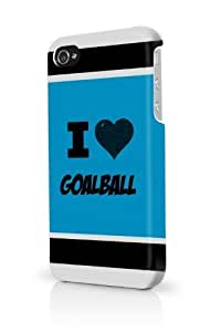 Goalball Blue iPhone 5/5S Case - For iPhone 5/5S - Designer PC Case by lolosakes
